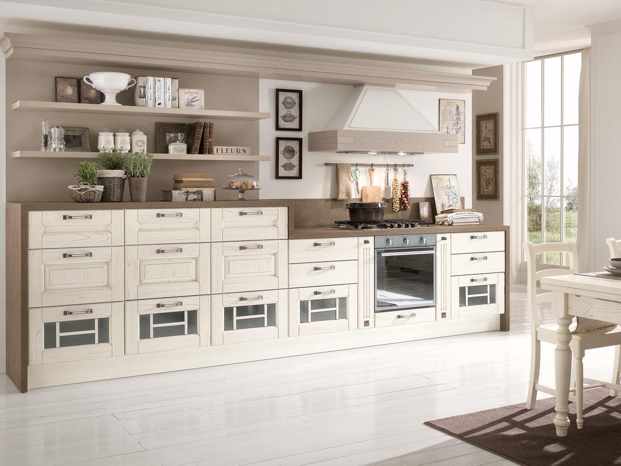 Piccole Cucine Romantiche : Piccole cucine a angolo. Piccole ...